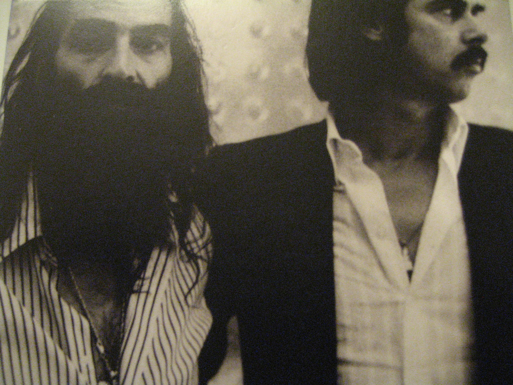 "Warren Ellis & Nick Cave. Cave har engang sagt: ""A man without a mustache is like af woman with a mostache"" // Foto: Pablo Trincado"