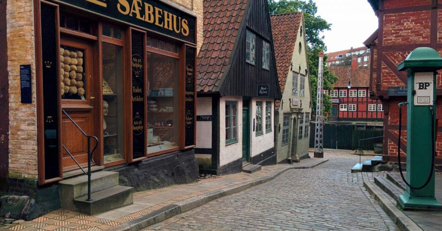 Den Gamle By after hours